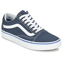 Shoes Low top trainers Vans OLD SKOOL Marine / White