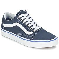 Shoes Low top trainers Vans OLD SKOOL MARINE / White