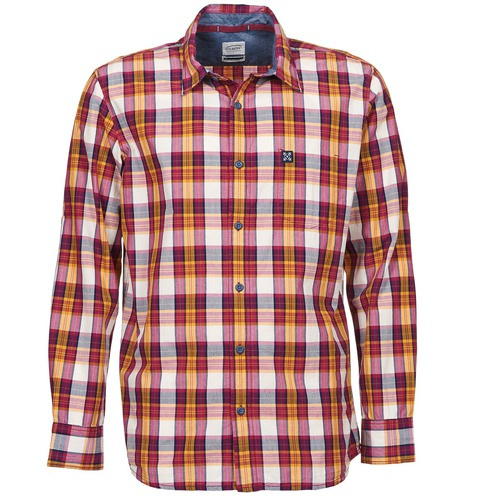 material Men long-sleeved shirts Oxbow GOMTI Multicoloured