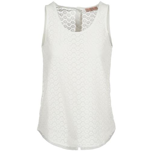 material Women Tops / Sleeveless T-shirts Moony Mood IGUOHIAVINE White