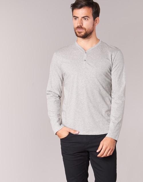 material Men Long sleeved shirts BOTD ETUNAMA Grey