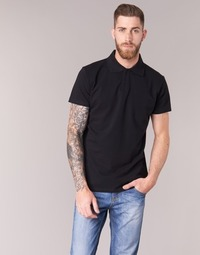 material Men short-sleeved polo shirts BOTD EPOLARO Black
