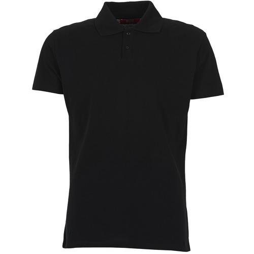 material Men short-sleeved polo shirts BOTD EPOLARO Black