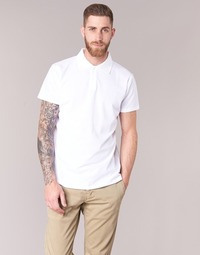 material Men short-sleeved polo shirts BOTD EPOLARO White