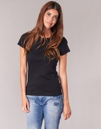 material Women short-sleeved t-shirts BOTD EQUATILA Black