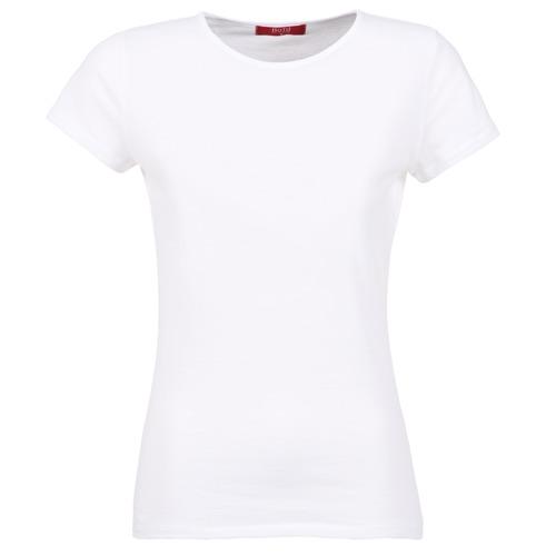 material Women short-sleeved t-shirts BOTD EQUATILA White