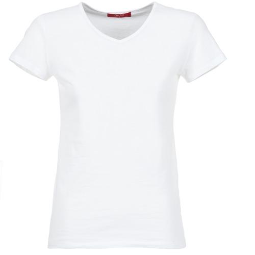 material Women short-sleeved t-shirts BOTD EFLOMU White