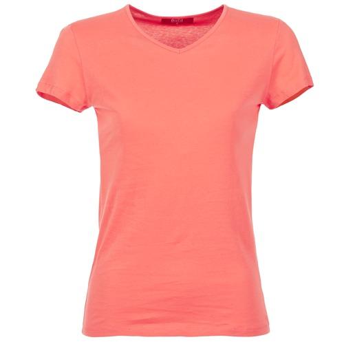 material Women short-sleeved t-shirts BOTD EFLOMU Orange