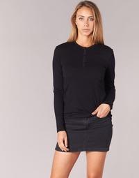 material Women Long sleeved shirts BOTD EBISCOL Black