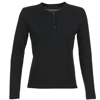 material Women Long sleeved shirts BOTD EBISCOL Black