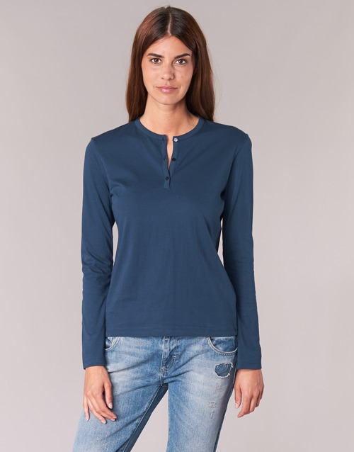 material Women Long sleeved shirts BOTD EBISCOL Marine