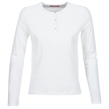 material Women Long sleeved shirts BOTD EBISCOL White