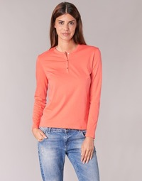 material Women Long sleeved shirts BOTD EBISCOL Orange
