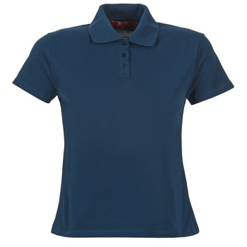 material Women short-sleeved polo shirts BOTD ECLOVERA Marine