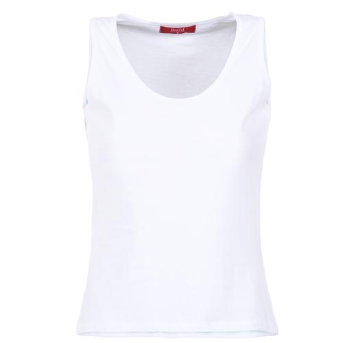 material Women Tops / Sleeveless T-shirts BOTD EDEBALA White