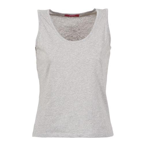 material Women Tops / Sleeveless T-shirts BOTD EDEBALA Grey