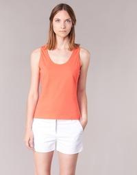 material Women Tops / Sleeveless T-shirts BOTD EDEBALA Orange