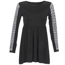 material Women Short Dresses School Rag ROSELYN Black