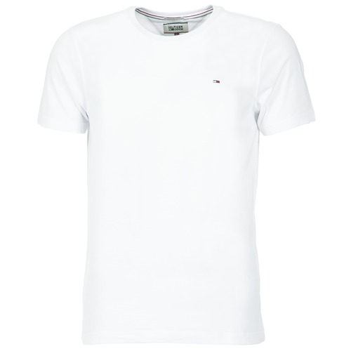 material Men short-sleeved t-shirts Tommy Jeans OFLEKI White