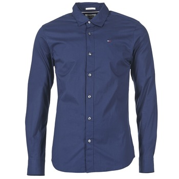 material Men long-sleeved shirts Tommy Jeans KANTERMI Marine