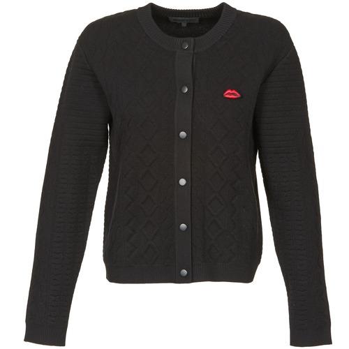 material Women Jackets / Cardigans American Retro LUIS Black