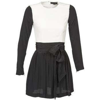 Dresses American Retro STANLEY Black / White 350x350