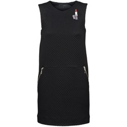 material Women Short Dresses American Retro JOSEPH Black