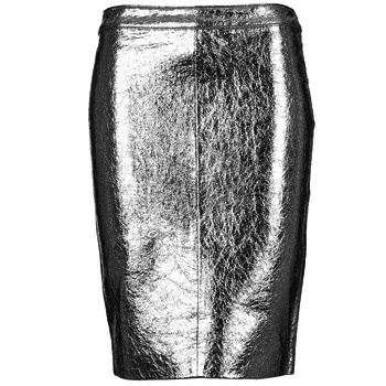 material Women Skirts American Retro DOROTHA Silver