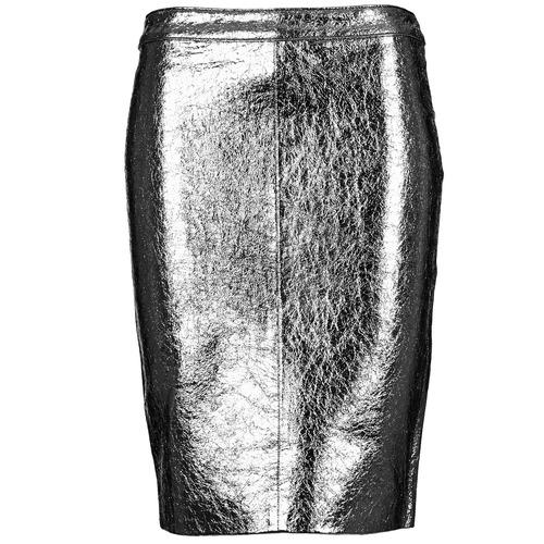 material Women Skirts American Retro DOROTHA Silver
