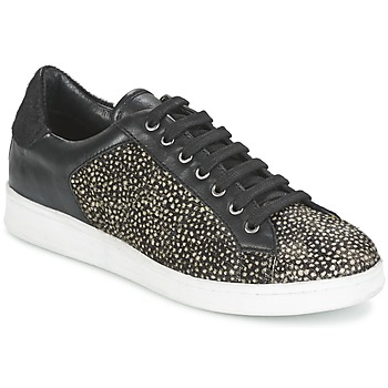 Shoes Women Low top trainers Maruti NOVA Black / White