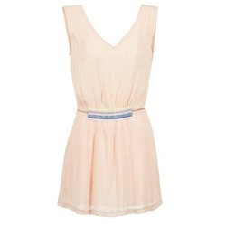 material Women Short Dresses Moony Mood EARINE Pink