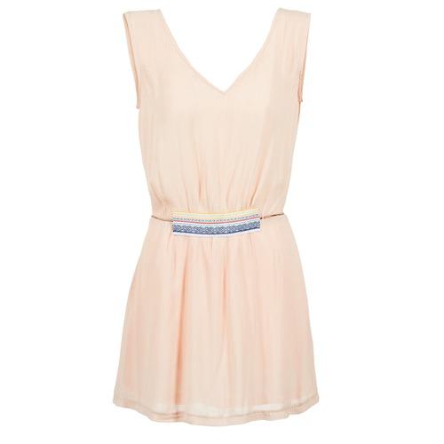 material Women Short Dresses Moony Mood EARINE Pink
