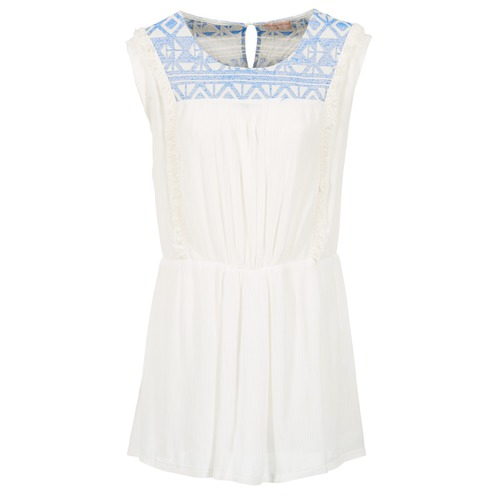 material Women Short Dresses Moony Mood EBENE White