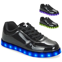 Shoes Women Low top trainers Wize & Ope POP Black