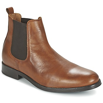 Shoes Men Mid boots Selected SHDOLIVER CHELSEA BOOT NOOS COGNAC