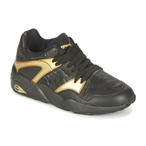 Shoes Women Low top trainers Puma BLAZE GOLD WN'S Black / Gold