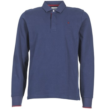 material Men long-sleeved polo shirts Serge Blanco 3 POLOS MARINE