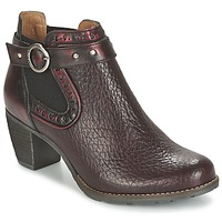 Shoes Women Low boots Dkode CLOA BORDEAUX