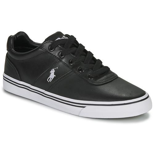 Shoes Men Low top trainers Polo Ralph Lauren HANFORD Black