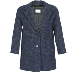 material Women coats Loreak Mendian MARE Blue