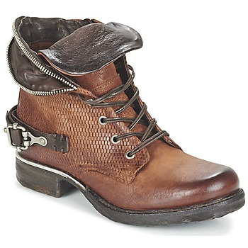 Shoes Women Mid boots Airstep / A.S.98 SAINT PA Brown