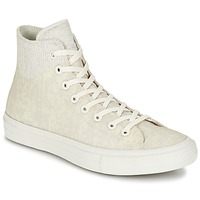 Shoes High top trainers Converse CHUCK TAYLOR ALL STAR II  CAOUTCHOUC HI BEIGE