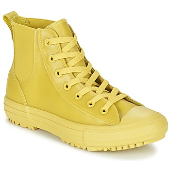 Shoes Women High top trainers Converse CHUCK TAYLOR ALL STAR CHELSEA CAOUTCHOUC HI Yellow / Citron