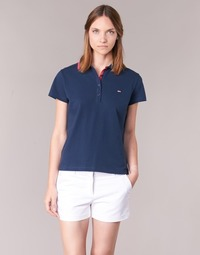 material Women short-sleeved polo shirts Casual Attitude EPIDOU MARINE