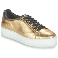 Shoes Women Low top trainers Diesel S-ANDYES W Gold