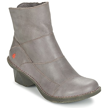 Shoes Women Ankle boots Art OTEIZA Grey