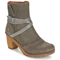 Shoes Women Ankle boots Art AMSTERDAM Grey