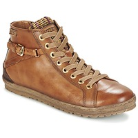 Shoes Women High top trainers Pikolinos LAGOS 901 COGNAC