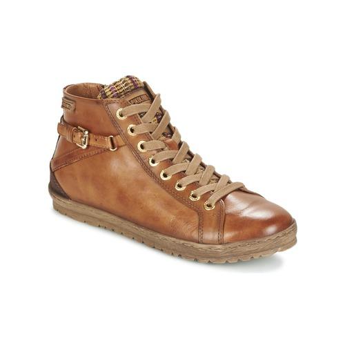 Shoes Women High top trainers Pikolinos LAGOS 901 Cognac