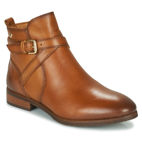 Shoes Women Mid boots Pikolinos ROYAL W4D Cognac